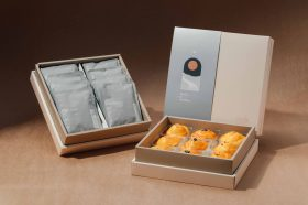 中秋就該選這味!「Moshi Café」推出飛碟造型悠芙酥+精選咖啡濾掛包中秋悠芙雙層禮盒