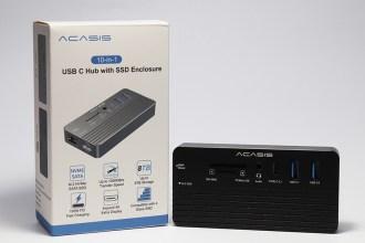 最便利的隨身極速HUB!ACASIS 10-in-1 SSD 集線盒開箱評測