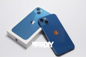 iPhone 13 藍色款與官方殼套開箱!電影級模式自動創造細膩景深