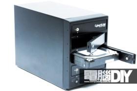 CyberSLIM S84-U3S四層磁碟陣列外接盒