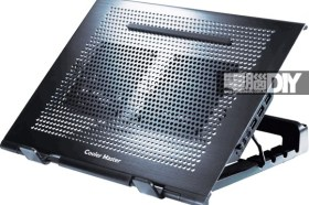 風扇位置隨心所欲 高度靈活可調CoolerMaster NOTEPAL U STAND 筆電散熱器