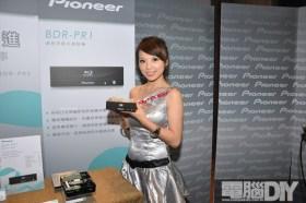 PIONEER發表專業級BD燒錄機