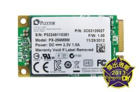 地表最強mSATA PLEXTOR M5M 256GB 固態硬碟