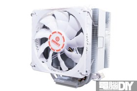 通體白化 更添質感Enermax ETS-T40 White Cluster CPU散熱器