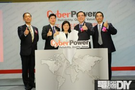 碩天科技結盟展碁國際 自有品牌CyberPower進軍台灣
