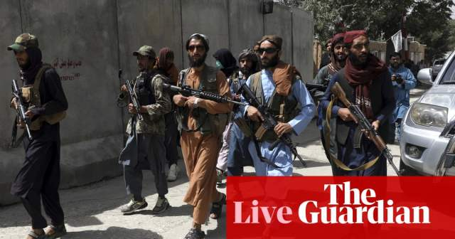 Afghanistan live news: Joe Biden says there was no way to exit without 'chaos'