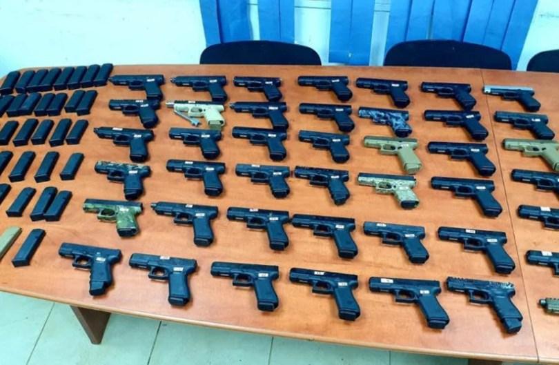 Tsahal et la police déjouent la contrebande d'armes à la frontière libanaise