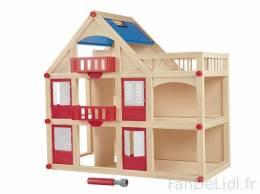 maison de poupee en bois playtive lidl