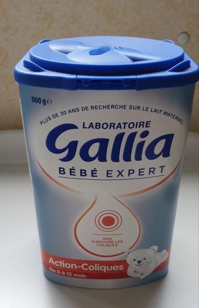 lait bebe expert action coliques