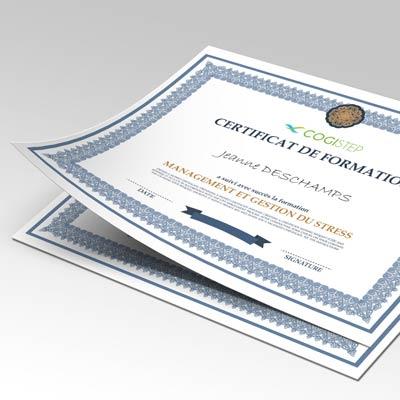 Impression De Diplomes Certificats Et Attestations Offre Unique