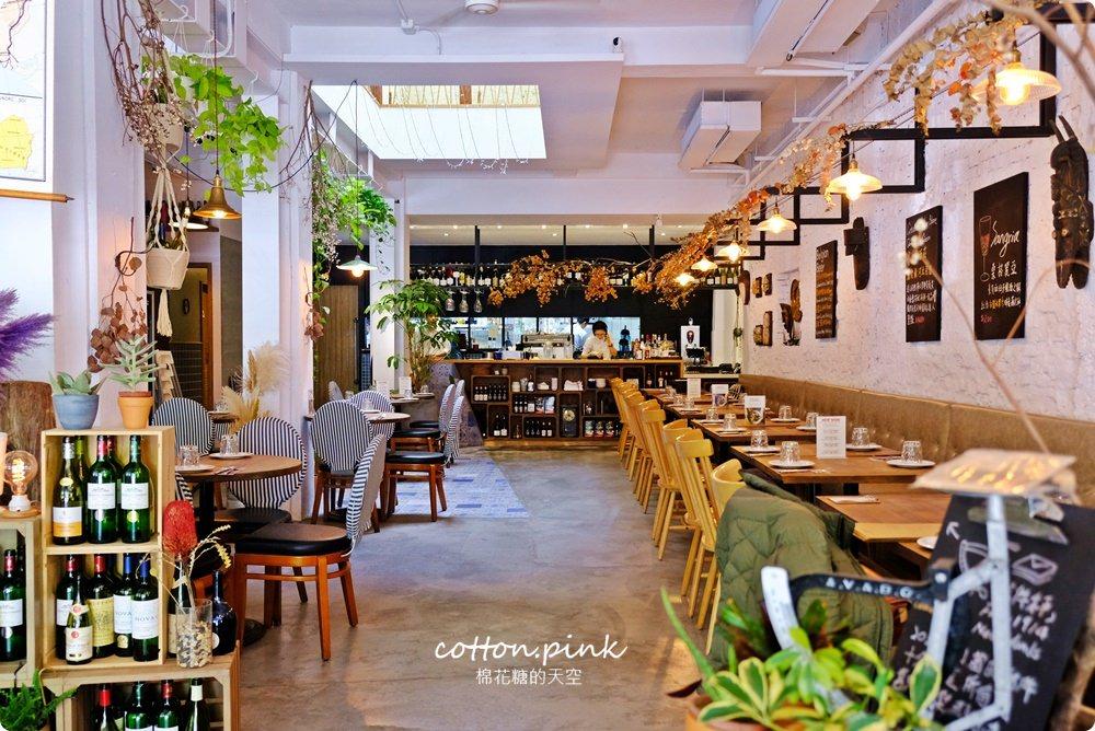 臺中地中海餐廳推薦-勤美商圈里頌地中海餐廳集優雅與慵懶於一身 - 棉花糖的天空