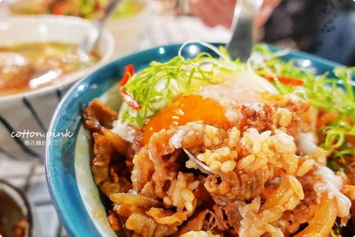 20190310155632 11 - 台中模範街商圈隱藏版美食-小庭院裏的TAKU牛丼,夜間限定喔!