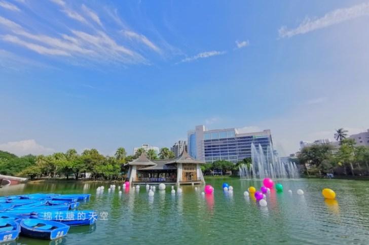 20191031162920 58 - 2020台灣燈會在台中倒數100天,台中公園率先點燈~繽紛花燈點亮湖面