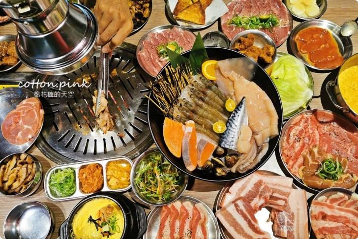 20191224003153 51 - 熱血採訪|台中公益路唯一韓式燒肉吃到飽!五花肉.KR mini韓國烤肉BBQ台中只有這一家~