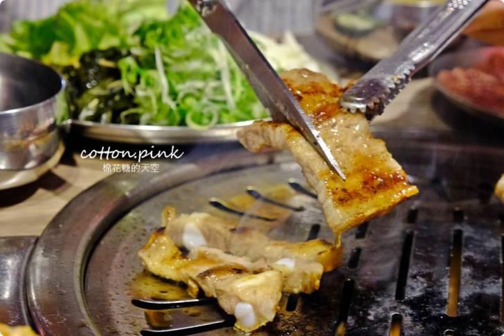 20191224003239 65 - 熱血採訪|台中公益路唯一韓式燒肉吃到飽!五花肉.KR mini韓國烤肉BBQ台中只有這一家~