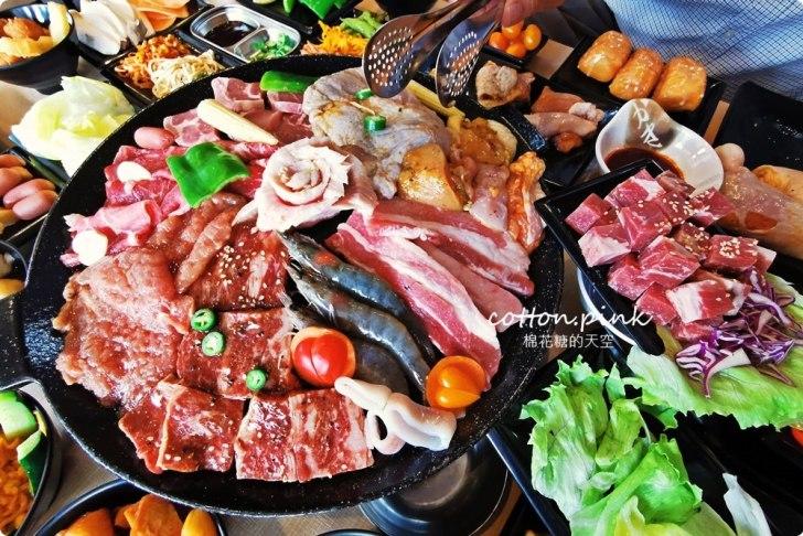 20200106161914 98 - 熱血採訪│肉鮮生MR.M.EAT台中韓式烤肉吃到飽來囉!肉品種類多,滿滿人潮排到門口