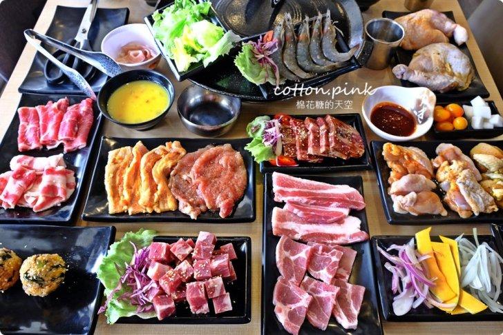 20200106161922 7 - 熱血採訪│肉鮮生MR.M.EAT台中韓式烤肉吃到飽來囉!肉品種類多,滿滿人潮排到門口