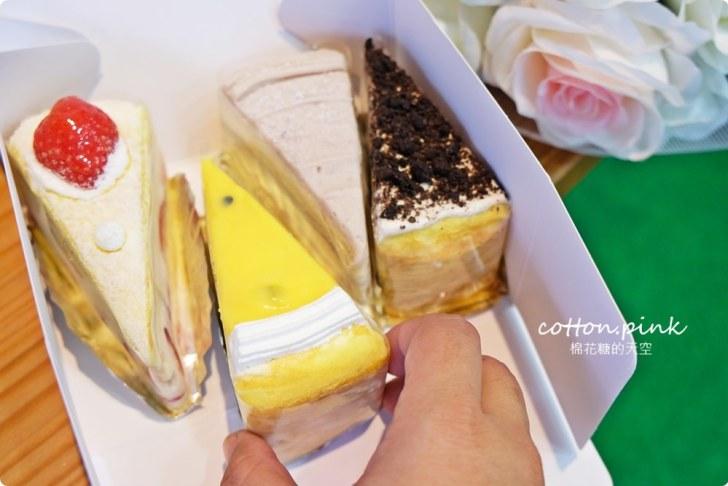 20200128140734 45 - 熱血採訪|兩層綿綿的戚風蛋糕裡面加了一整層的草莓,這也太邪惡了吧!