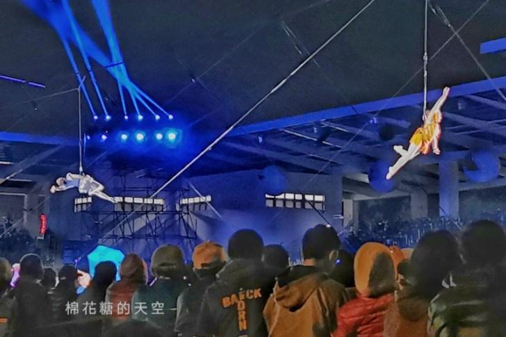 20200210160444 3 - 台灣燈會后里馬場燈區每晚都有高空特技表演~免費入場超好看!
