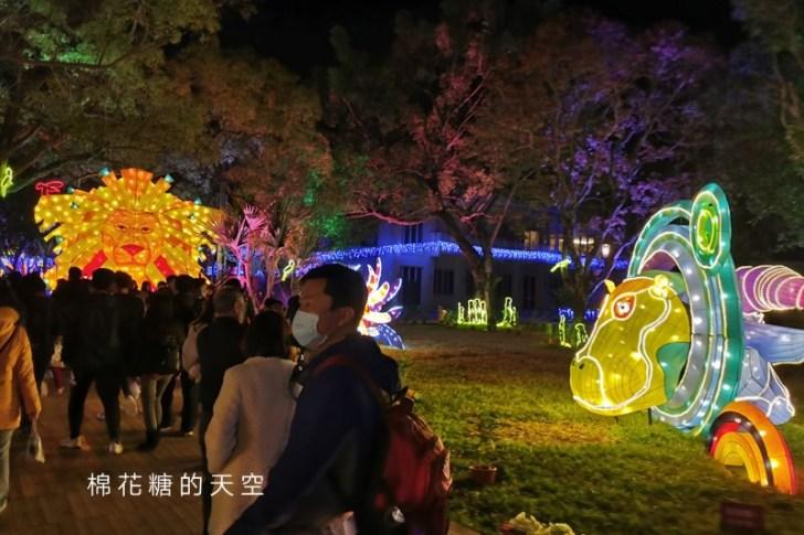 20200210233534 67 - 台灣燈會后里馬場燈區每晚都有高空特技表演~免費入場超好看!