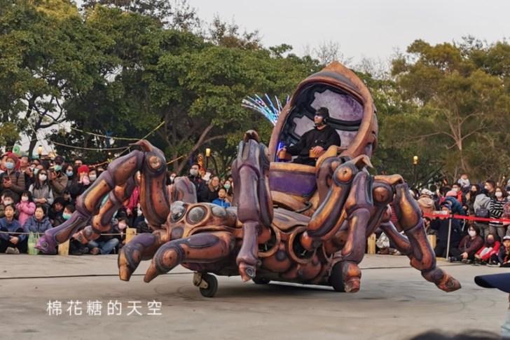 20200211164328 4 - 台灣燈會必看表演-全球首演森林機械巨蟲秀,台灣限定一天只有三場