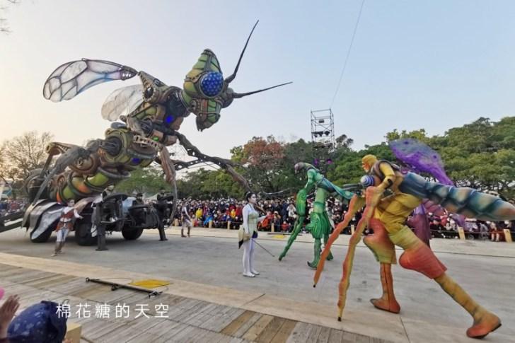 20200211164331 89 - 台灣燈會必看表演-全球首演森林機械巨蟲秀,台灣限定一天只有三場