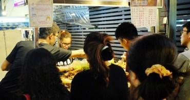 《台中美食》大里夜市超級排隊美食-辣脆腸2486,超多好料任你選~CP值超高
