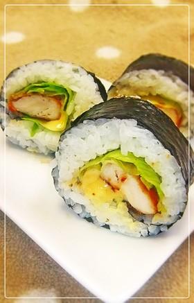 ♫♫♬ ササミてり焼き巻き寿司 ♫♫♬