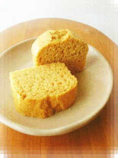 ふわふわ♡お豆腐ときな粉のケーキ