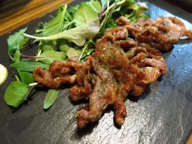 ラム肉(ジンギスカン)のから揚げ