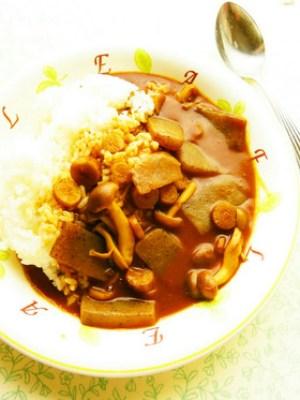 食物繊維 カレー