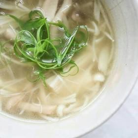 キノコ 生姜 スープ