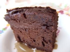 超簡単で安上がりなしっとりチョコケーキ