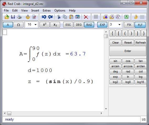 Resultado de imagen de RedCrab Calculator 6.