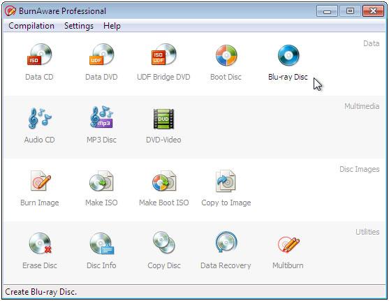 Resultado de imagen de BurnAware Professional / Premium 10