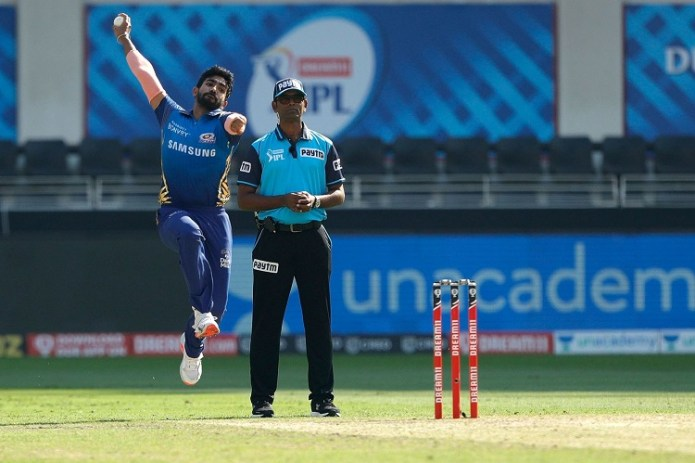 Bumrah in IPL for Mumbai Indians