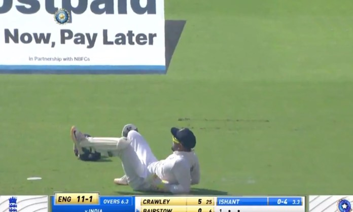 Cricket Image for Rishabh Pant Stunt While Wicket Keeping