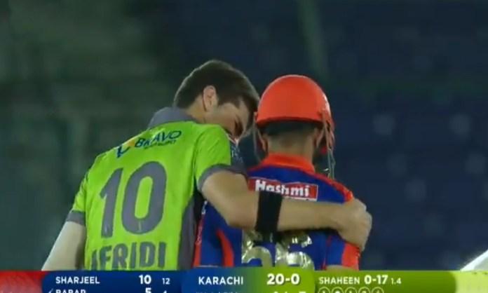 Cricket Image for Shaheen Afridi Smashes The Stumps Of His International Captain Babar Azam