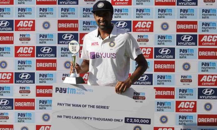 Cricket Image for भारतीय स्पिनर रविचंद्रन अश्विन चुने गए ICC Player Of The Month,इंग्लैंड के खिलाफ झ