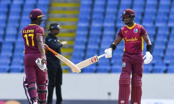 Cricket Image for WI vs SL: वेस्टइंडीज ने पहले वनडे में श्रीलंका को 8 विकेट से हराया, शाई होप ने जड़