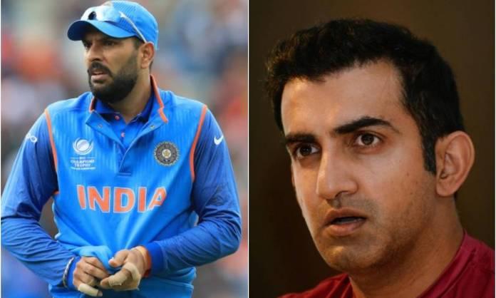 Cricket Image for एक वर्ल्ड चैंपियन को मिला दुसरे साथी का साथ, गौतम गंभीर ने कहा- 'हां, मैं युवराज
