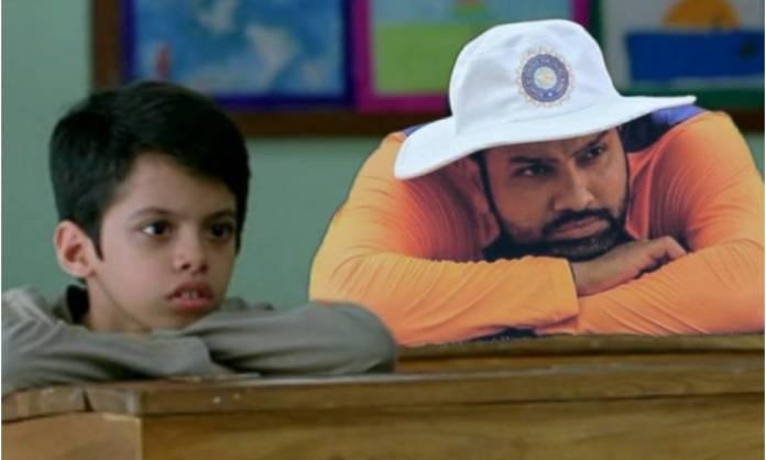 Cricket Image for 'मुझे कब कप्तान बनाएंगे ये लोग', रोहित शर्मा की वायरल तस्वीर पर फैंस ने बनाए मज़ेद