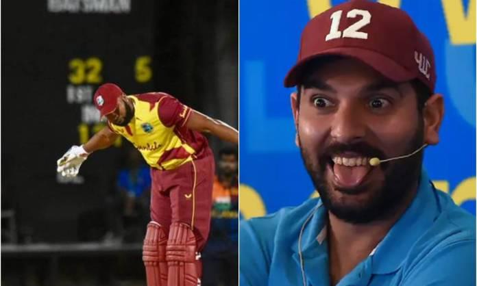 Cricket Image for पोलार्ड के 6 छक्के देखने के बाद युवराज सिंह ने भी दिया रिएक्शन, फैंस बोले- 'आप के