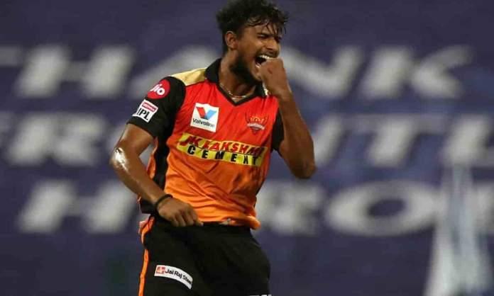 Cricket Image for सनराइजर्स हैदराबाद को तगड़ा झटका, टी नटराजन आईपीएल 2021 से हो सकते हैं बाहर