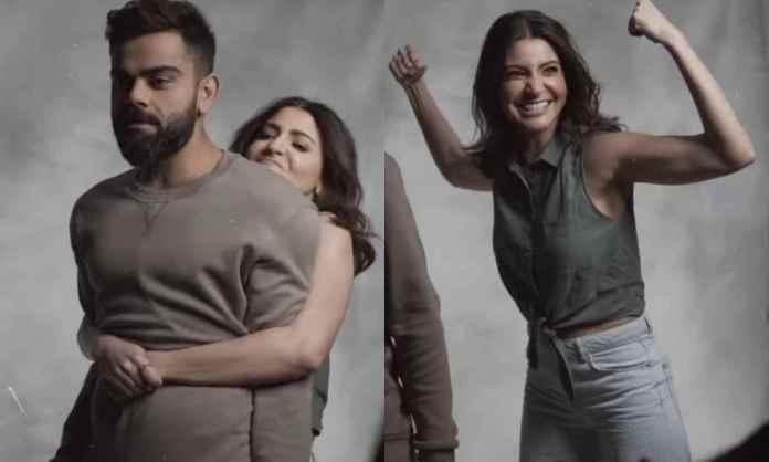 Cricket Image for अनुष्का शर्मा ने पति विराट कोहली को किया लिफ्ट, एक्ट्रेस की ताकत देखकर फैंस बोले-