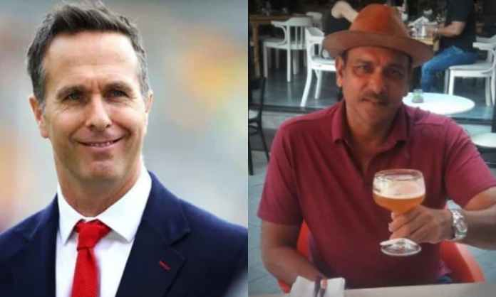 I can imagine how much red wine Ravi Shastri must have had, Michael Vaughan recalls India's win in t