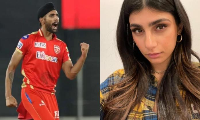 Cricket Image for IPL: क्या है हरप्रीत बरार और मिया खलीफा का कनेक्शन?, फैंस बोल रहे हैं डिलीट कर दो