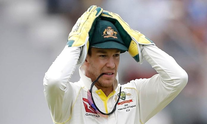 Cricket Image for Australian Captain Tim Paine Blamed His Failure Of Lead The Players On Indian Team