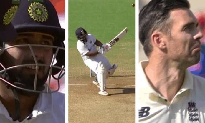 Cricket Image for जेम्स एंडरसन का VIDEO शेयर कर बार्मी आर्मी ने कसा टीम इंडिया पर तंज, फैंस बोले-'ऋष
