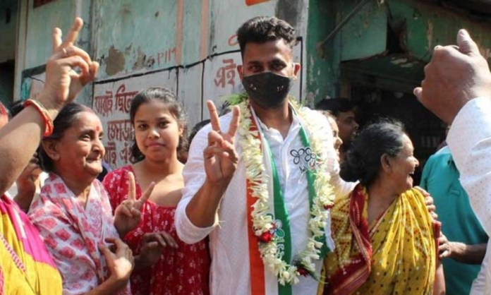 Cricket Image for Former Indian Cricketer Manoj Tiwary Wins West Bengal Assembly Election
